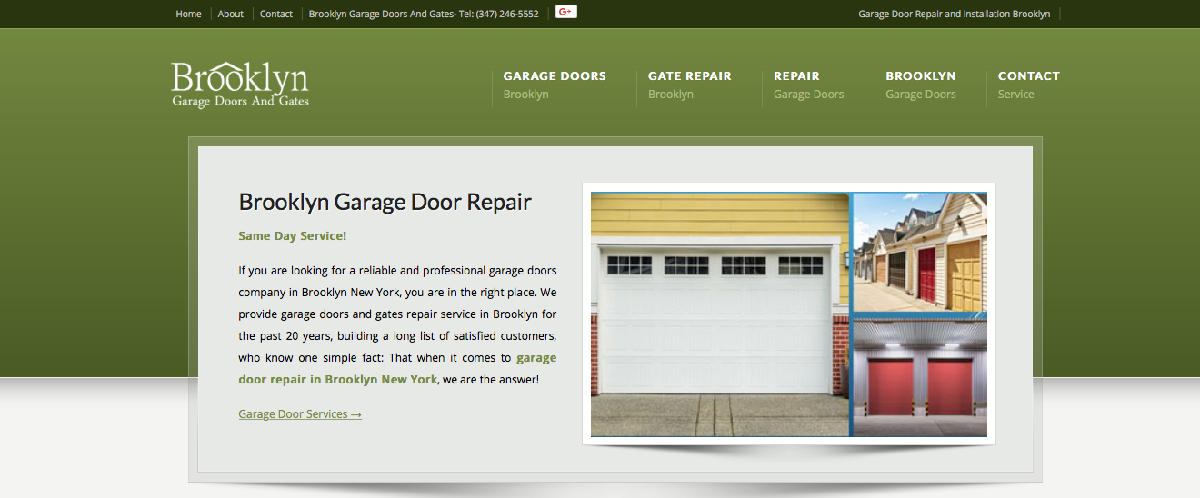 BROOKLYN GARAGE DOORS & GATES