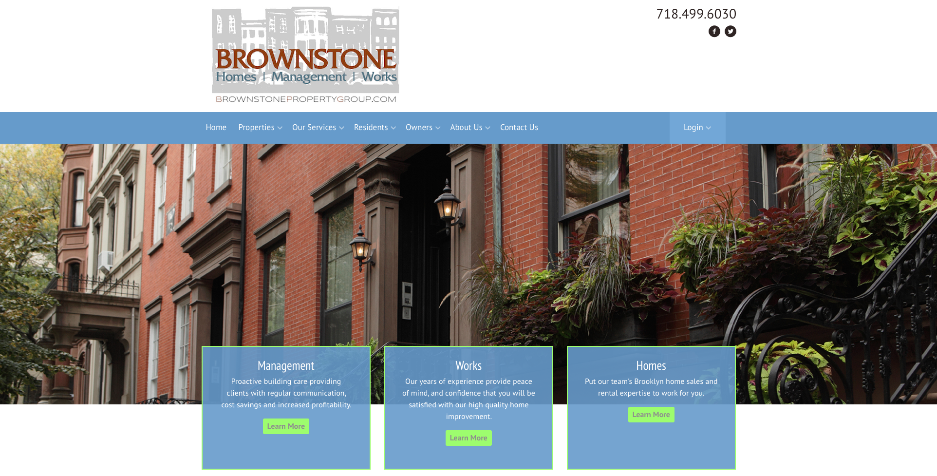 BROWNSTONE PROPERTY GROUP