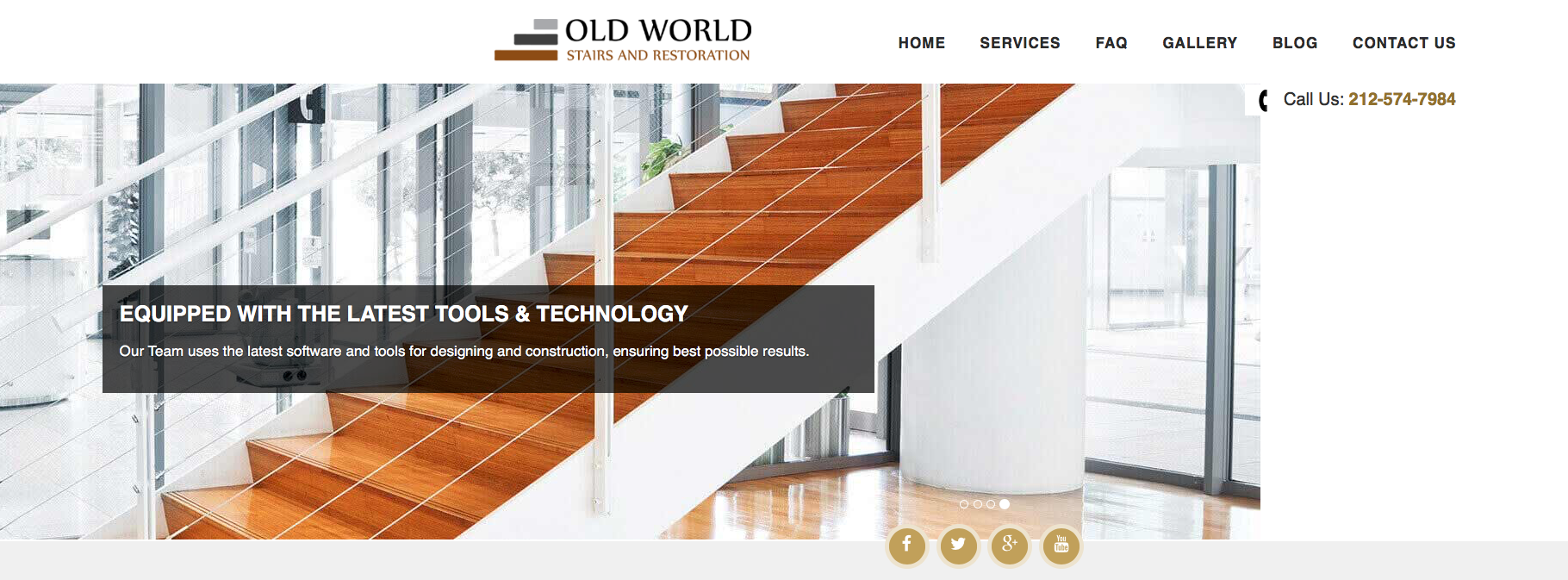 OLD WORLD STAIRS & RESTORATION
